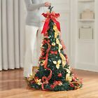 Christmas Fully Decorated Pre-Lit 6-Ft. Pop-Up Christmas Tree