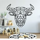 Bull Wall Sticker Removable Home Decoration Accessories Kids Creative Stickers