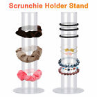 Acrylic Scrunchie Holder Stand Hair Bands Jewelry Organizer Display Clear Gift
