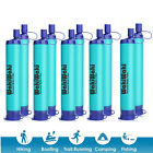 Survival Water Filter Straw Filtration Drinking Hiking Camping Travel Emergency