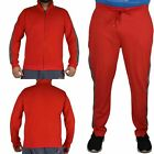 Mens Brave Soul Jogging Bottom & Full Zip Top Quick Dry Gym Stretch Track Suit