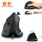 Zelotes C-18 Vertical Cable Game LED Programmable Remote Mouse For Ergonomics