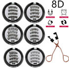2021 Real 8D Quantum Magnetic Eyelashes with Soft Magnet Technology Beauty