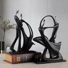 Abstract Dancing Couple Sculpture Decorative Statue Lovers Ornament Home Decor