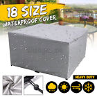Waterproof Outdoor Furniture Cover Yard Uv Garden Table Chairs Shelter Protector