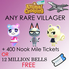 Any *RARE* Villagers In BOXES ready to move to your island.+ 40 items