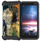 For Nokia 3.1C / Nokia 3.1A Full Armor Belt Clip Holster Case
