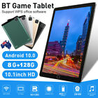 10.1 Inch Android10.0 8gb+128gb Hd Tablet Pc Wifi Bluetooth Gps Dual Camera Wps