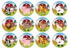 Farmyard Animals Edible Cake Toppers Wafer Or Icing