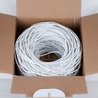 Cat6 Riser (CMR) 1000ft 23AWG 4 Pair Solid Bare Copper 550MHz, ETL Listed Cable