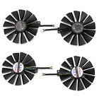 For ASUS DUAL-RX580-8G Graphics Card Fan Replacement 4PIN Video Card Cooling Fan