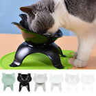 Non-slip Single Pet Bowls with Raised Stand Dog Cat Food Water Feeding Station