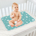 Baby Infant Washable Diaper Nappy Urine Mat Waterproof Bedding Changing Pads 2F