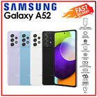 (unlocked) Samsung Galaxy A52 8gb+256gb Black White Blue Android Mobile Phone