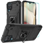 For Samsung Galaxy A12 A11 A32 A52 Case Ring Holder Stand Cover/Screen Protector