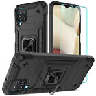 For Samsung Galaxy A12,A11,A52 5G,A32 5G Case Stand Ring Cover/Screen Protector