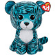 RARE & RETIRED TY BEANIE BOO TESS TIGER 17 JUMBO/LARGE~JUSTICE EXCLUSIVE~NEW!