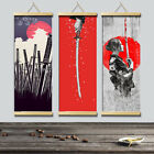 Japanese Style Canvas Painting Wall Art Poster Hanging Picture Home Decoration