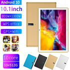"Dual SIM 10.1"" 5G Android 10 Tablet PC 10 512G Octa Core Camera Wifi GPS 2021"