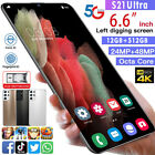 Android 10.0 Hd Screen 5g Smartphone 12g + 512gb Dual Sim 6.6in