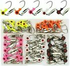 60 PCS Underspin Jig Heads 1/16oz 1/8oz Crappie Jigs Best Price ⭐FREE LURES⭐
