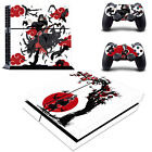 PS4 Slim Pro Naruto Uchiha Itachi Skins Decal Stickers for Console Controllers