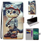 For Nokia 2.4 Cartoons Painted Magnetic Leather Flip Wallet Bracket Case Cover