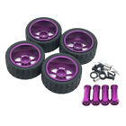 4pcs Tires Wheel For Wltoys 144001 Rc Hobby Model Car Diy Parts Accessories