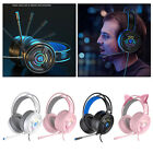 PSH-200 3.5mm Stereo Gaming Headset Headphones Soft Earmuffs for PC Laptop