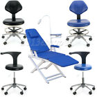 Medical Doctor's Stool Adjustable Mobile Chair / Folding Chair W/LED Light