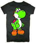 NINTENDO T-Shirt Tee NEW Yoshi Sheer BLACK (JUNIORS)