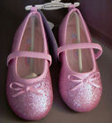 'Lil Girls ROSE PINK Sparkle Dress Shoes 5 - 10  NEW