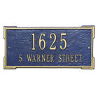 Whitehall Products Plaque - Roanoke House or Lawn Sign