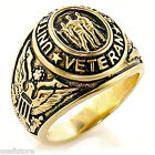 Veteran United States Military 18kt Gold Plated Ring