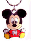 Mickey Mouse pendant disney Charm Necklace