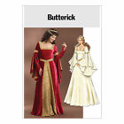 Butterick 4571 Sewing Pattern to MAKE  Medieval/Renaissance Historic Gowns