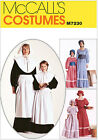McCall's 7230 Sewing Pattern to MAKE Pioneer or Victorian Adult or Child Sizes