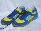 INSTEP 'SANDERS' BLUE/YELLOW LACE UP SUEDE TRAINERS   £44.99  BNIB  SIZES 1 - 5