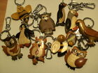 Wooden Keyring - BIRDS