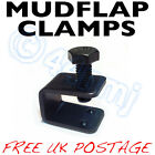 BLACK Mudflap Fitting Fixing Clamps U C Clamp Mud Flaps Job lot / Bulk available