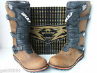 NEW BROWN WULF TRIALS BOOTS (ALL SIZES) BETA MONTESA GAS GAS HEBO OSSA WULFSPORT