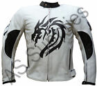 """DRACO"" neXus Dragon Leather Biker Jacket  - All sizes!"