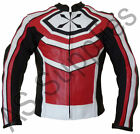 """DIMENSION"" neXus Leather Motorcycle Jacket - All sizes - Perforated Leather!"