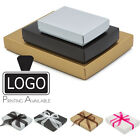 Luxury Matt Finish Self Assembly Flat Pack Gift Boxes A4 A5 A6 Printing Availabl