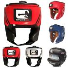 Sporteq Leather Open/Full/Bar Face Boxing / Martial Arts Headguard