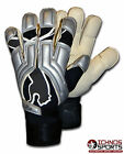 Puma V1 Pro Adult size silver football soccer goalie goalkeeper gloves