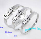 Korean Super Junior Lee teuk Belt Bangle Fine Stainless Steel Made in KOREA