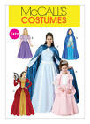 McCall's 6420 Sewing Pattern to MAKE Period Costume Dress & Cape Child or Adult