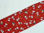 Snoopy on Red  Male Dog Diaper / Belly Band  * U - Pick  Size *