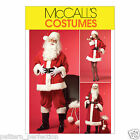 McCall's 5550 Sewing Pattern to MAKE Male/Female Santa / Father Christmas Suit